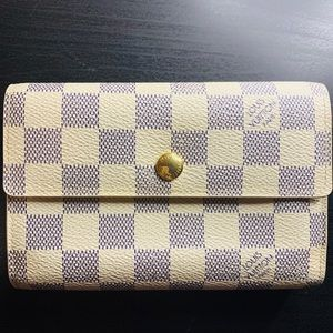 Louis Vuitton Alexandra Azur Wallet